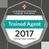 Бейдж - подтверждение об успешном прохождении тренинга в области международных экзаменов Cambridge English