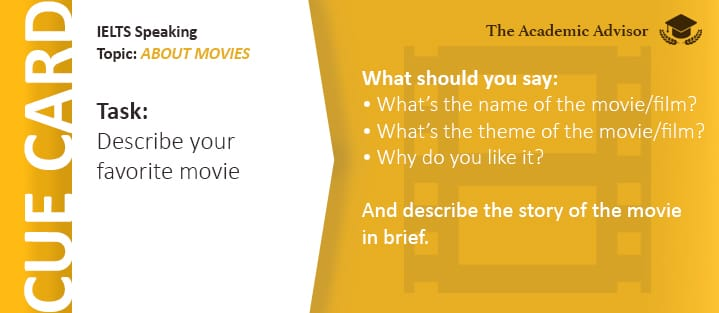 IELTS Speaking - About Movies
