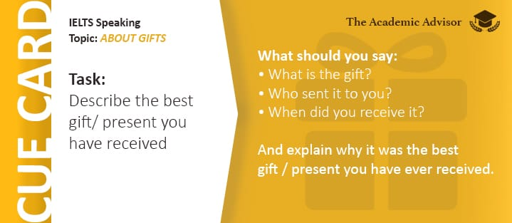 IELTS Speaking - About Gifts