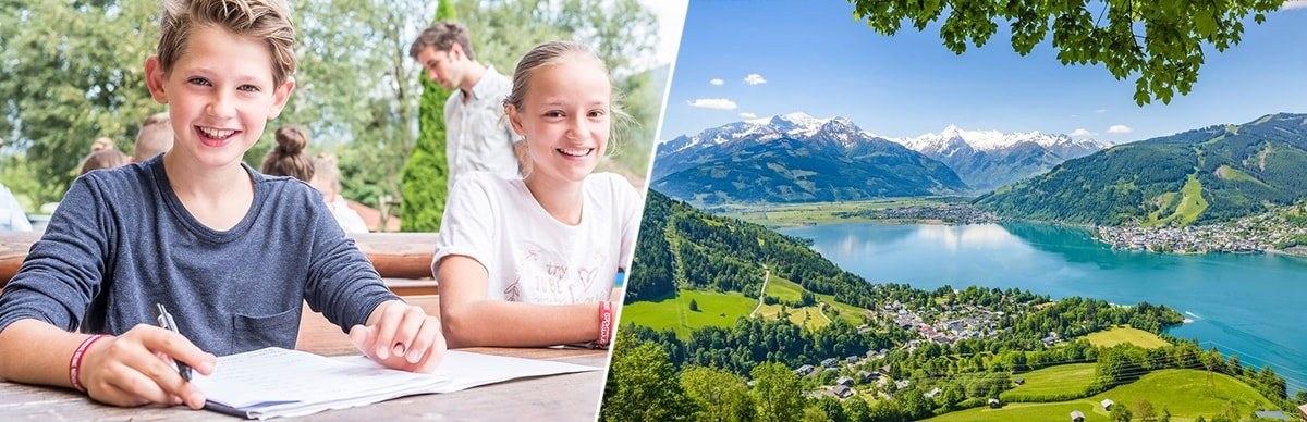 летние каникулы в Австрии