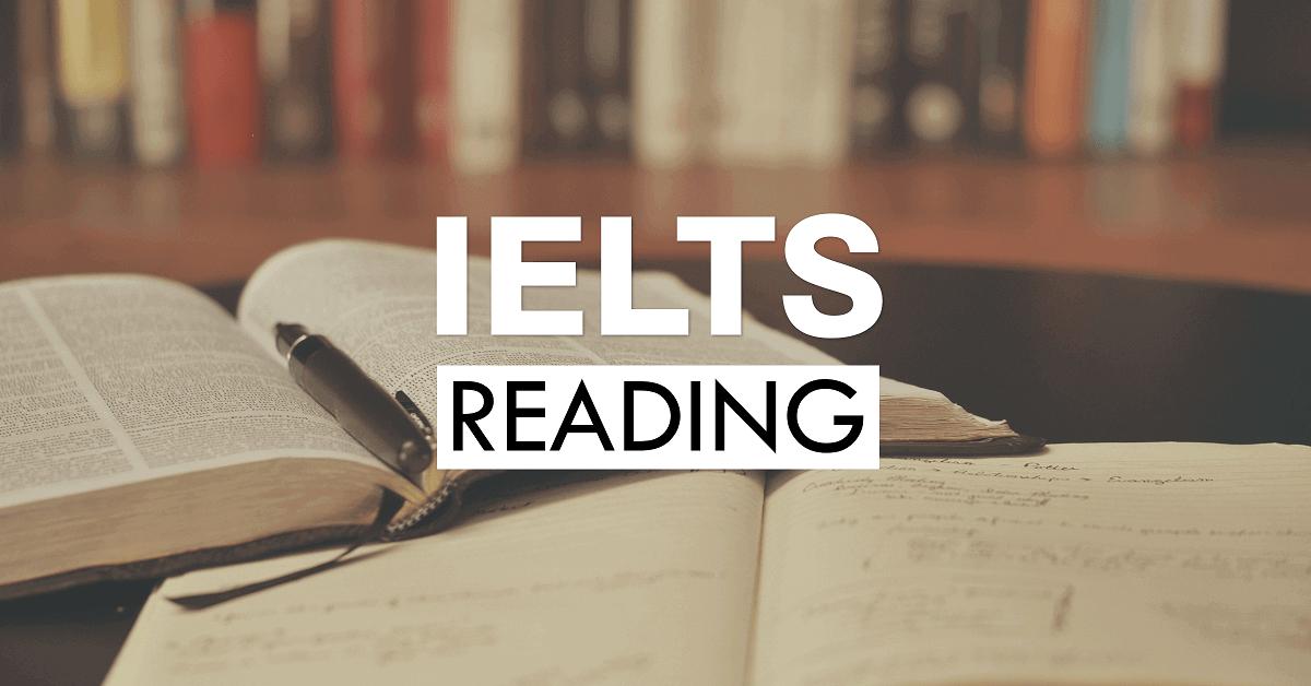 IELTS Test Reading