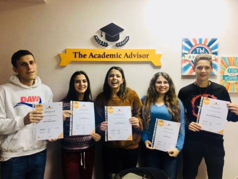Студенты курса подготовки к IELTS