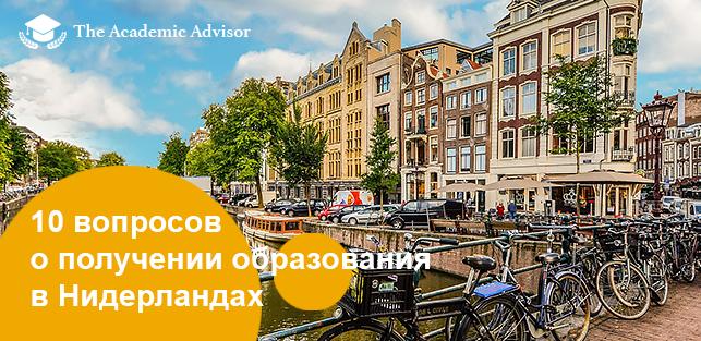 Почему стоит учится в Голландии